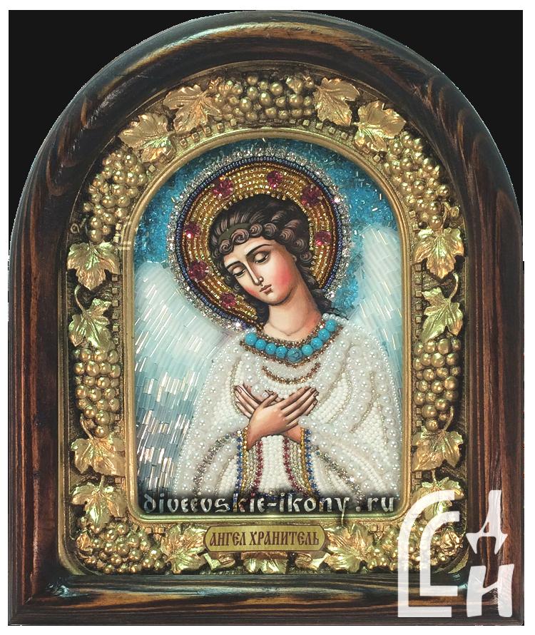 Дивеевская икона Ангела Хранителя бисером