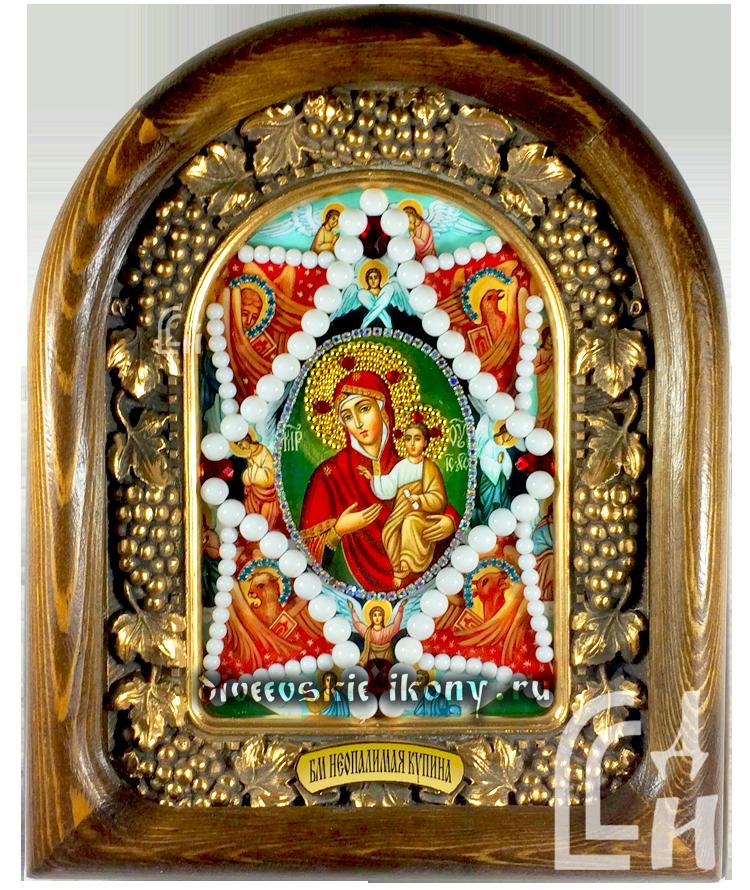 Неопалимая Купина Дивеевская икона