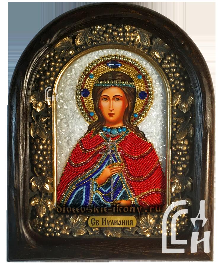 Дивеевская икона Святая Иулиания