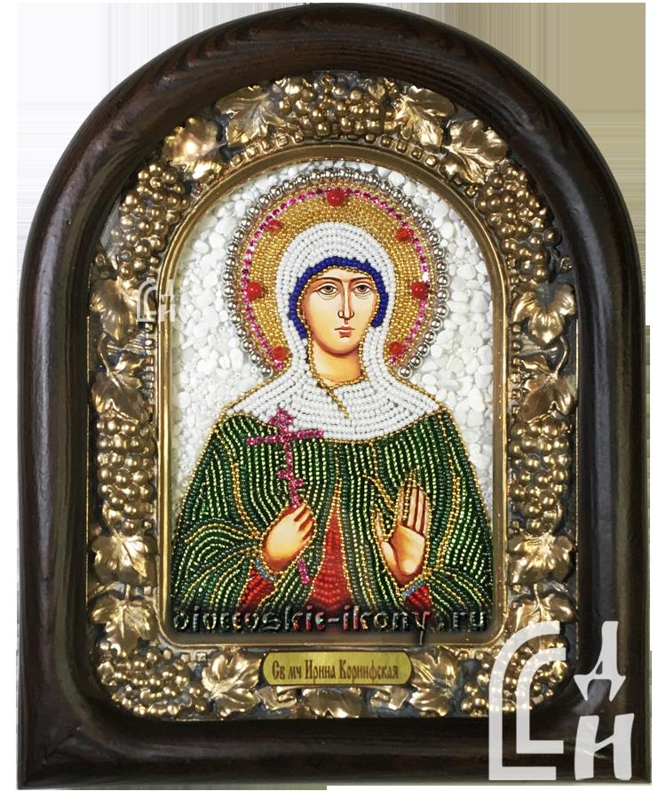Дивеевская Икона Святой Мученицы Ирины Коринфской