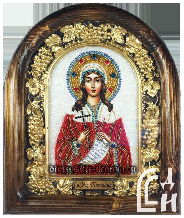 Татьяна икона бисером