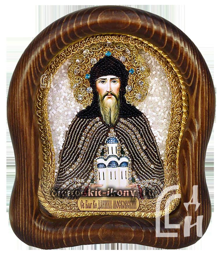Даниил Московский икона бисером