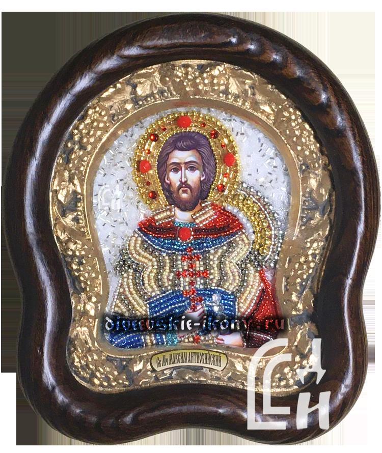 Икона из бисера Святого Мученика Максима Антиохийского