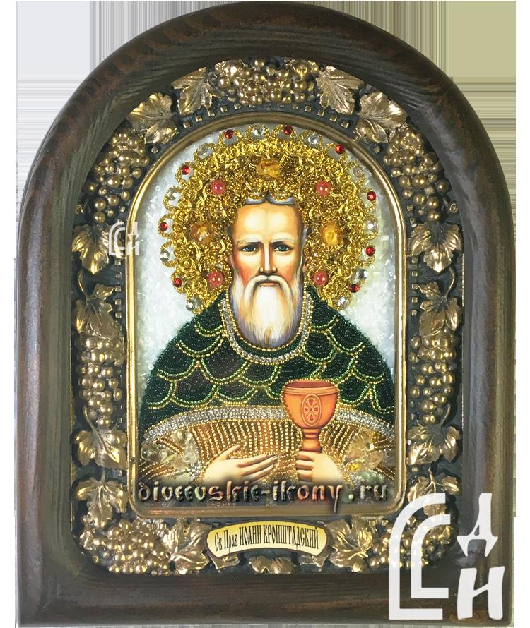 Икона Святого Праведного Иоанна Кронштадского