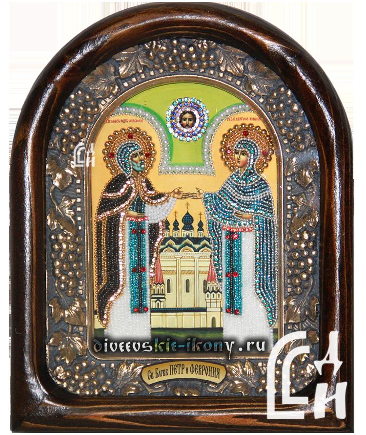 Дивеевская Икона Святых Благоверных Пётра и Февронии