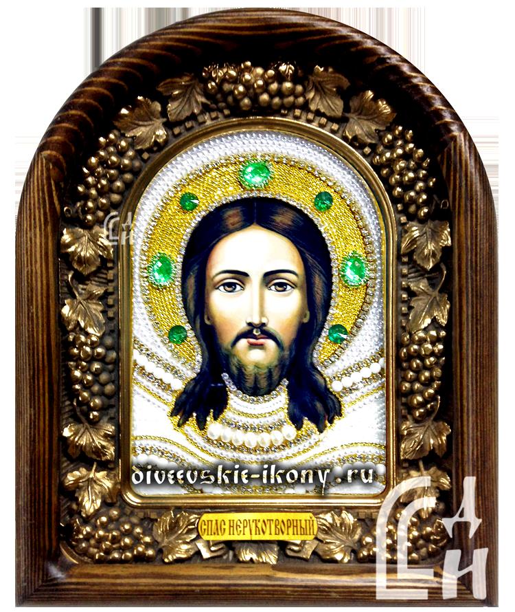 Дивеевская икона Спас Нерукотворный