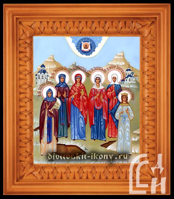 Собор Святых Анастасий — Икона на холсте