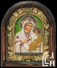 Икона бисером-Божией Матери «Иверская»