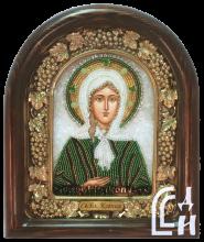 Ксения Петербургская икона брисером