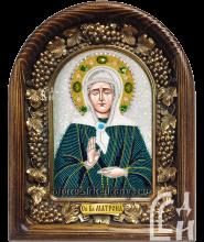 Святая Блаженная Матрона в бирюзовом