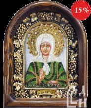 Святая Блаженная Матрона в зелёном