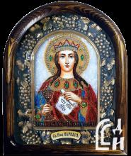 Дивеевская Икона Святой Великомученицы Варвары