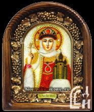 Икона бисером Ольга