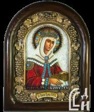 Икона из бисера Царицы Елены