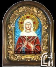 Икона из бисера святой мученицы Анны Готфской