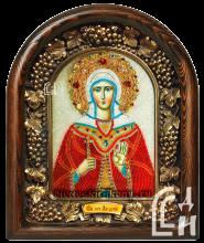 Святая мученица Лидия икона именная