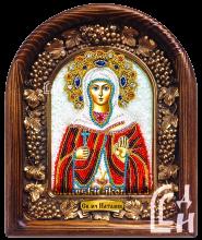 Наталия именная икона из бисера