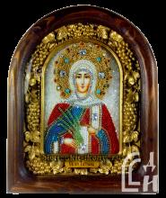Святая мученица Татиана Дивеевская икона из бисера