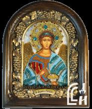 Икона из бисера Архангела Рафаила