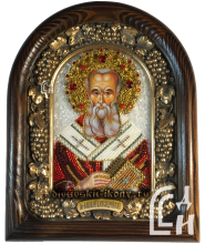 Дивеевская икона Святой Афанасий Александрийский