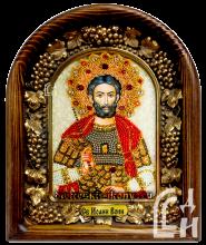 Святой Иоанн Воин из бисера