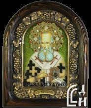 икона из бисера Святого Преподобного Григория Богослова