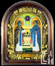 Дивеевская икона Пётр и Феврония