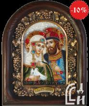Икона Святых Благоверных Петра и Февронии