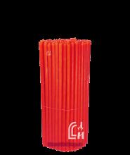 Красные церковные восковые свечи №60 (Ивановские) – 1 кг
