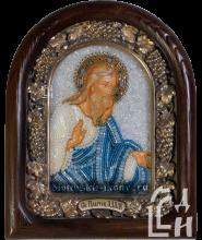 Икона из бисера Святого Праотца Адама