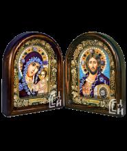 Венчальная пара иконы бисером