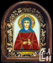 Святая Мелания Дивеевская именная икона
